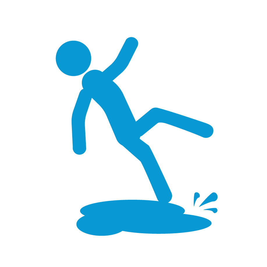 slips trips falls This course addresses slips, trips and falls - which are of concern in all workplaces and are major causes of work-related injuries.
